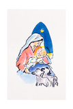 Madonna and Child with Lambs  1996