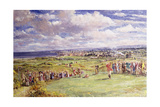The Fifth Tee  St Andrew's  1921