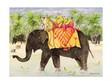 Elephants with Bananas  1998