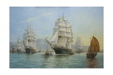 Thermopylae and Cutty Sark Leaving Foochow in 1872  2008