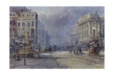 Piccadilly Circus in Victorian Times  2008