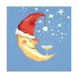 Bubbly Christmas Moon