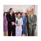 Exhibition (Former President and Madam Lee) 1995