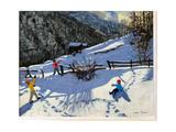 Snowballers  Zermatt