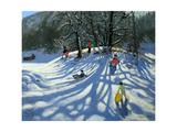 Fun in the Snow  Morzine  France