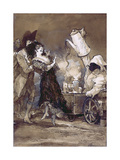 Cafe Con Leche Caliente (After Goya)