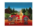 Red Rolls Royce  1992