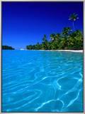 Tropical Lagoon Waters  Aitutaki  Southern Group  Cook Islands