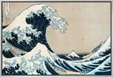 "The Great Wave Off Kanagawa  from the Series ""36 Views of Mt Fuji"" (""Fugaku Sanjuokkei"")"