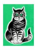 Green-Eyed Cat - Jack & Jill