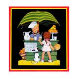 Lemonade Stand - Child Life Giclée par John Gee