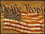 Constitution and US Flag