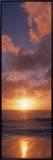 Clouds at Dusk  Pillar Point  California  USA