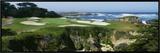 High Angle View of a Golf Course  Cypress Point Golf Course  Pebble Beach  California  USA