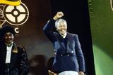 Nelson Mandela  London 1990