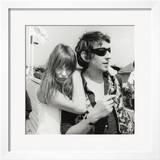 Serge Gainsbourg and Jane Birkin  July 23  1970
