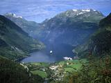 Geiranger Fjord  Western Fjords  Norway