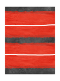 Grey and Red Abstract 3