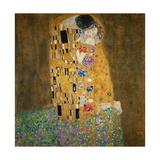 Le Baiser, vers 1907 Reproduction d'art par Gustav Klimt