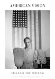 American Gothic, 1942 (Struggle for Freedom) Reproduction d'art par Gordon Parks