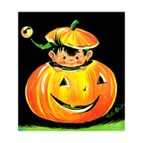 Goblin in the Pumpkin Patch - Jack & Jill