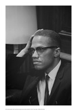 Malcolm X at MLK Press Conference  Washington DC  March  1964