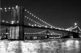 Brooklyn Bridge and Manhattan Bridge  Night