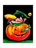 Pumpkin Elf - Jack & Jill