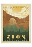 Parc national de Zion Reproduction d'art par Anderson Design Group