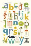 ABC Reproduction d'art par Yuko Lau