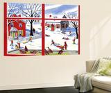 Winter Window - Jack & Jill