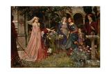 The Enchanted Garden  c1916-17
