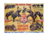 Poster Advertising the 'Circus Henry'  1908
