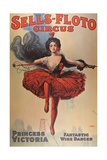 Poster Advertising the 'Sells-Floto Circus'  1920