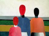 Three Female Figures  1928-32