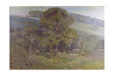 Moonlight in the Cotswolds  1903