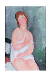 Young Woman in a Shirt  or the Little Milkmaid  1917-18