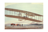 The Wright Brothers at Kitty Hawk  North Carolina  in 1903