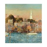 October Sundown  Newport  1901