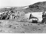 Penguins Listening to the Gramophone During Shackleton's 1907-09 Antarctic Expedition  from 'The…