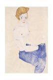 Seated Blue Nude  1911