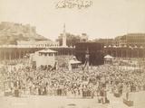 Praying around the Kaaba  Mecca  1900