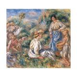 Women in a Landscape  1912