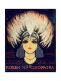 Cover for Score of 'Die Perlen Der Cleopatra'  Operetta by Oscar Straus  1923