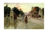 The Champs Elysees  Paris