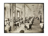 A Dining Room at the Robert Treat Hotel  Newark  New Jersey  1916