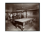 The Bar at Janer's Pavilion Hotel  Red Bank  New Jersey  1903