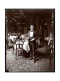 The Head Waiter at Sherry's Restaurant  New York  1902
