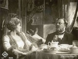 "Still from the Film ""The Blue Angel"" with Marlene Dietrich and Emil Jannings  1930"