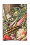 Garden Vegetables  Illustration from 'Garden Ways and Garden Days'